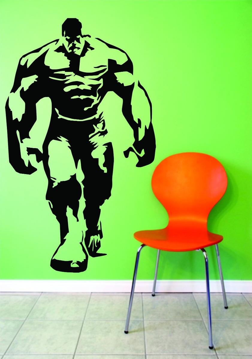 adesivo parede quarto infantil super heroi hulk vingadores r 29