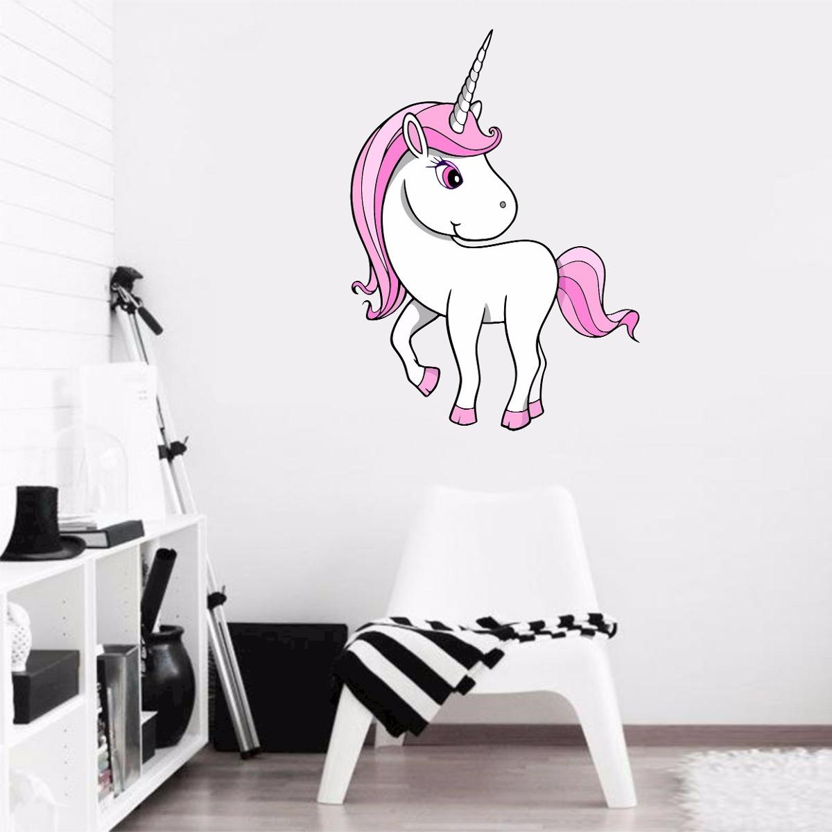Adesivo De Parede Arvore Infantil ~ Adesivo Parede Quarto Infantil Unicórnio Cavalo Animais R$ 44,99 em Mercado Livre