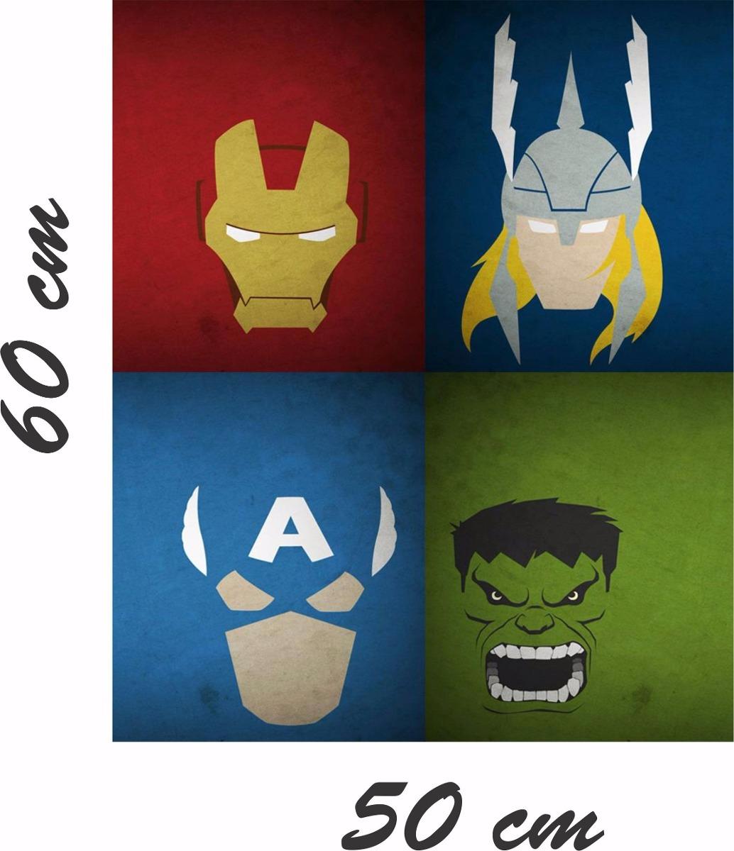 Adesivo De Quarto Infantil ~ Adesivo Parede Quarto Infantil Vingadores Hulk Thor Avengers R$ 29,99 em Mercado Livre