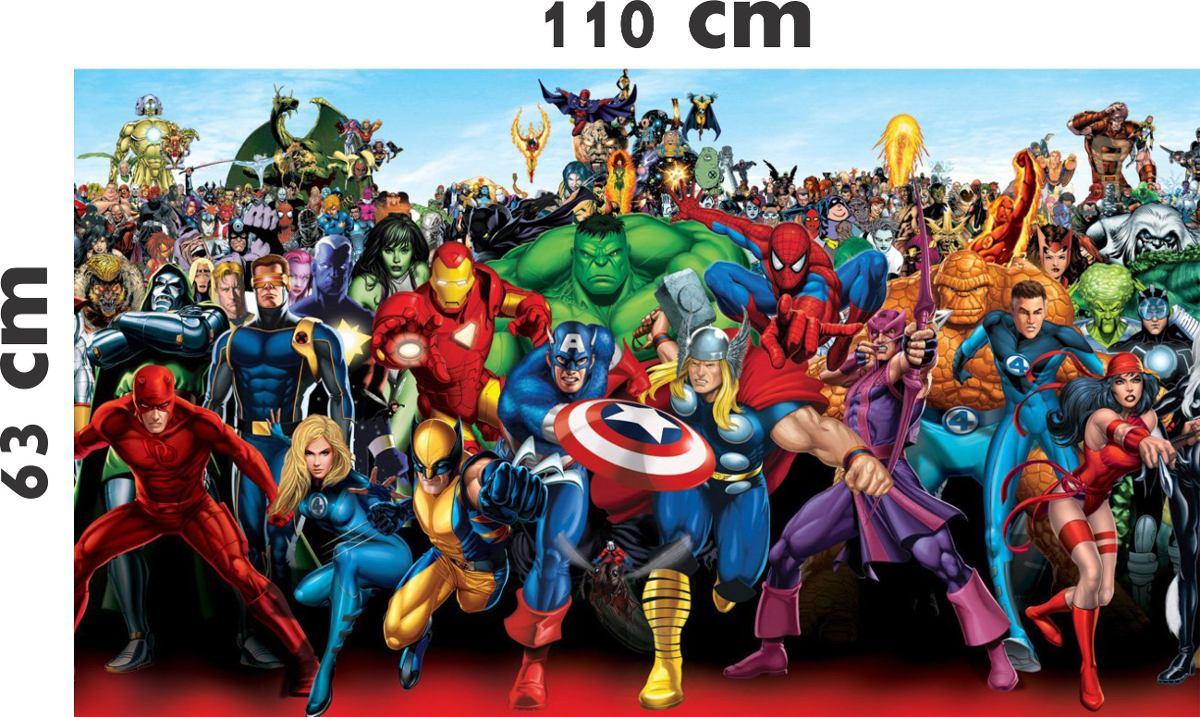 Papel De Parede Para Quarto Dos Vingadores Redival Com ~ Tecidos Para Parede De Quarto E Quarto Bebe Super Herois
