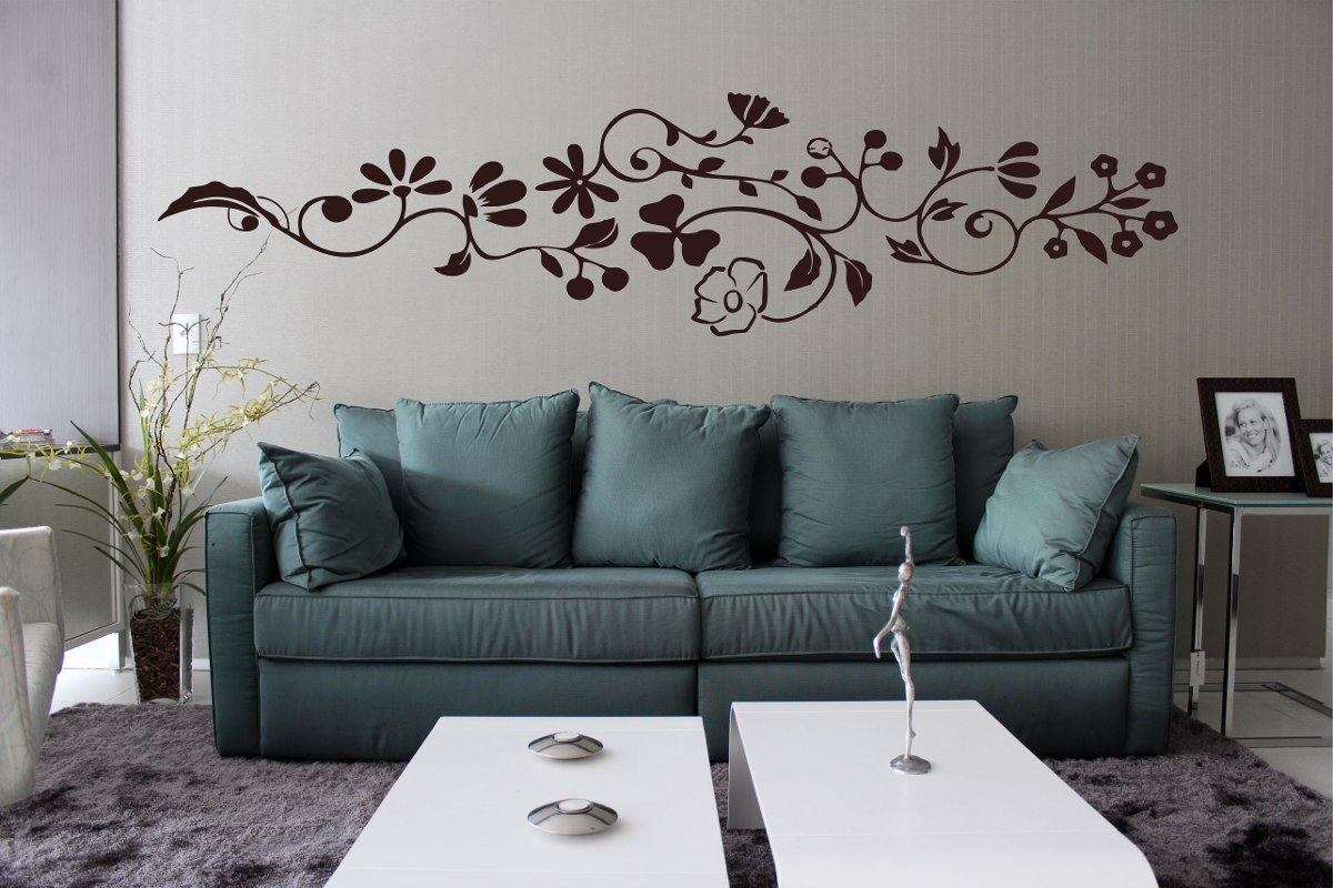 Artesanato Brasil Escola ~ Adesivo Decorativo Parede Sala Quarto Floral Grande Galho
