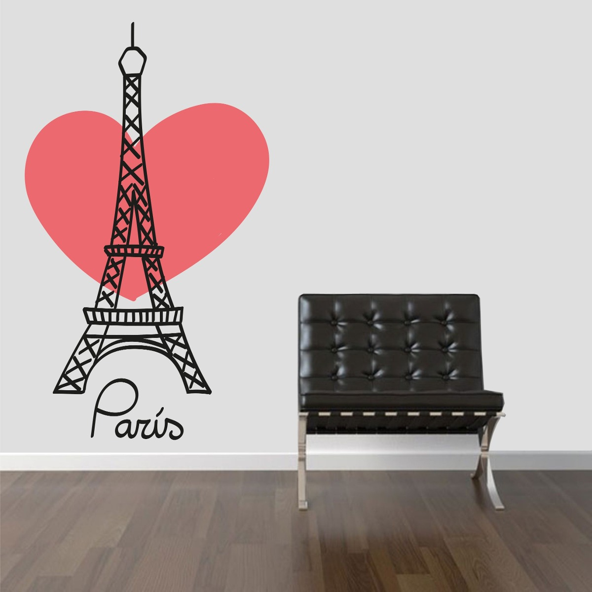Curso Artesanato Goiania ~ Adesivo Parede Viagem País França Cidade Paris Torre Eiffel R$ 29,99 em Mercado Livre