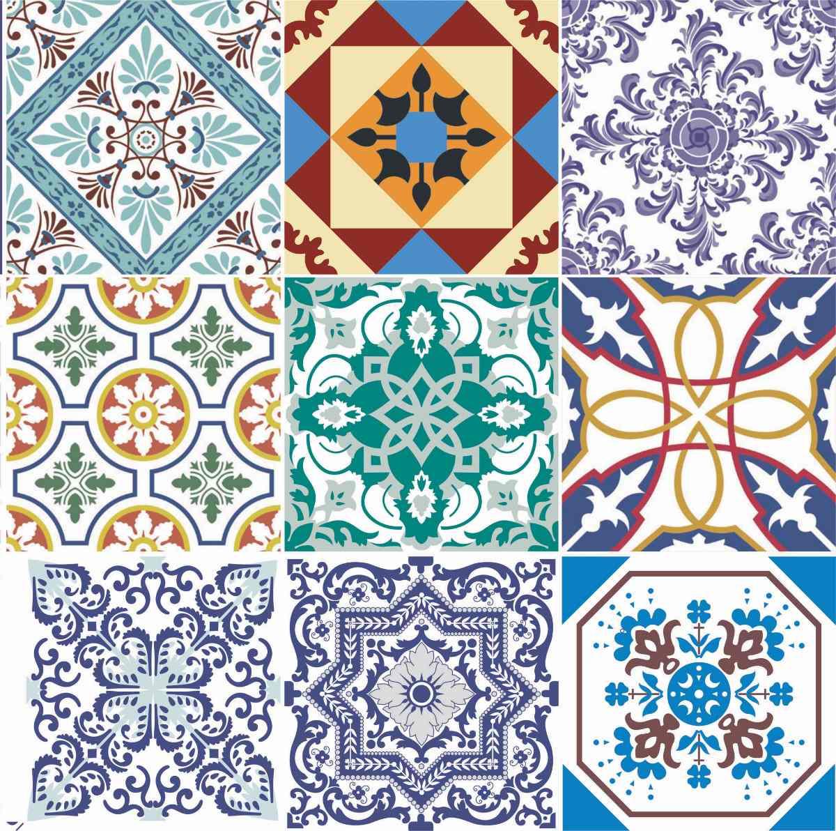 adesivo pastilha azulejo ladrilho hidr ulico ou parede