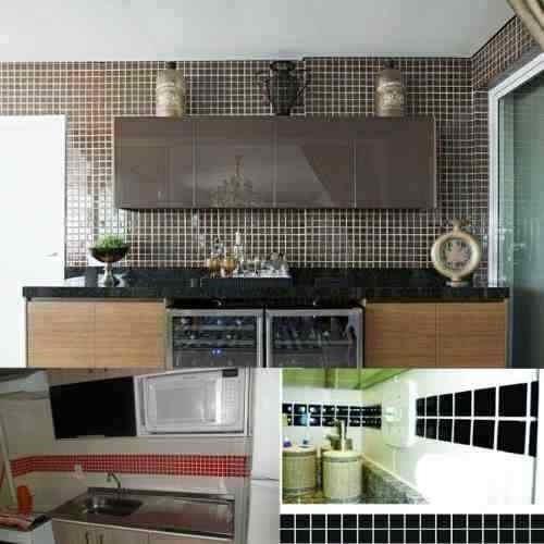 Adesivo Pastilhas Decorativas Azulejos Cozinha Copa Banheiro R