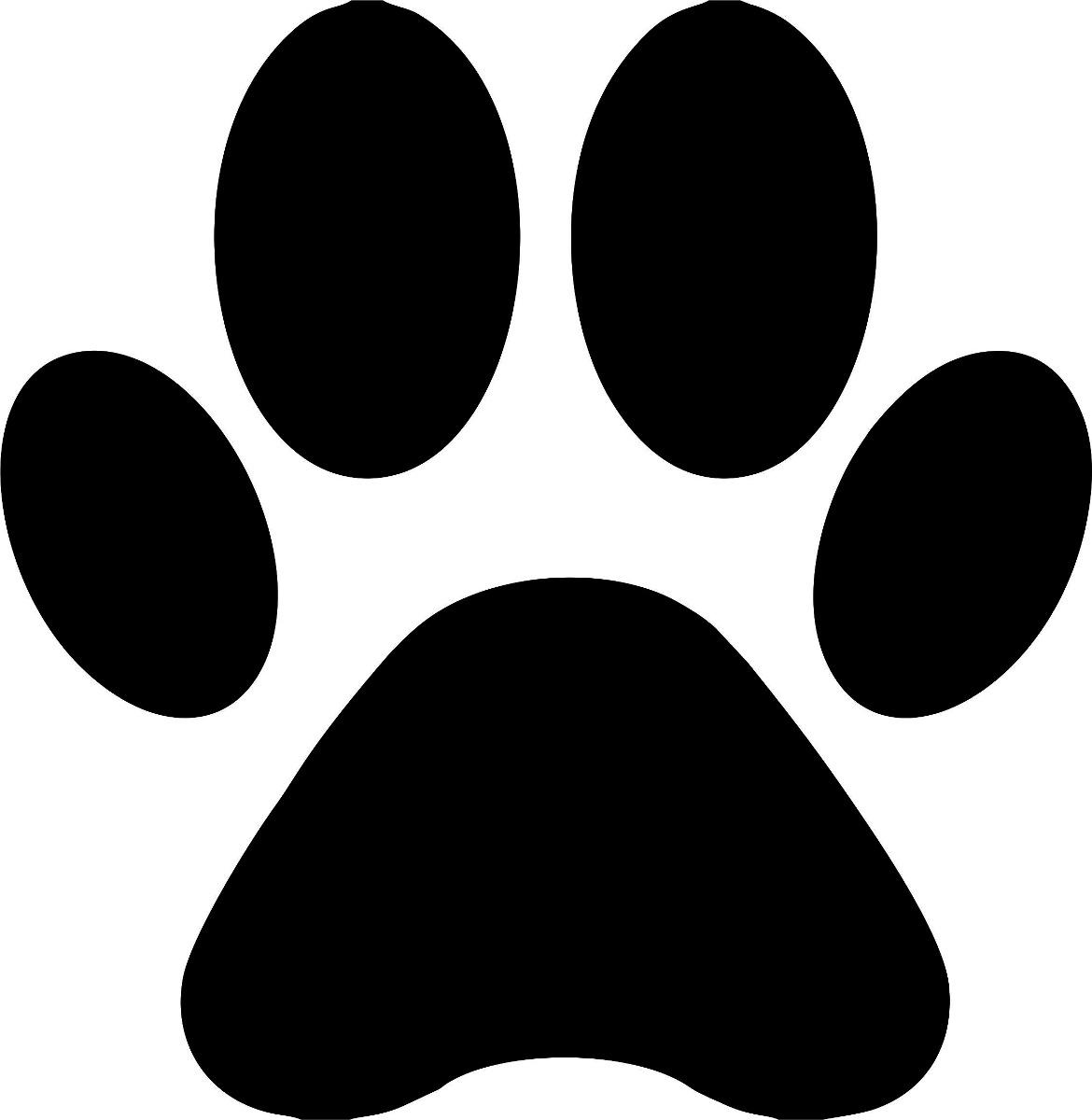 Adesivo Pegada De Cachorro C 227 O 3x3 140 Un Frete Fixo R