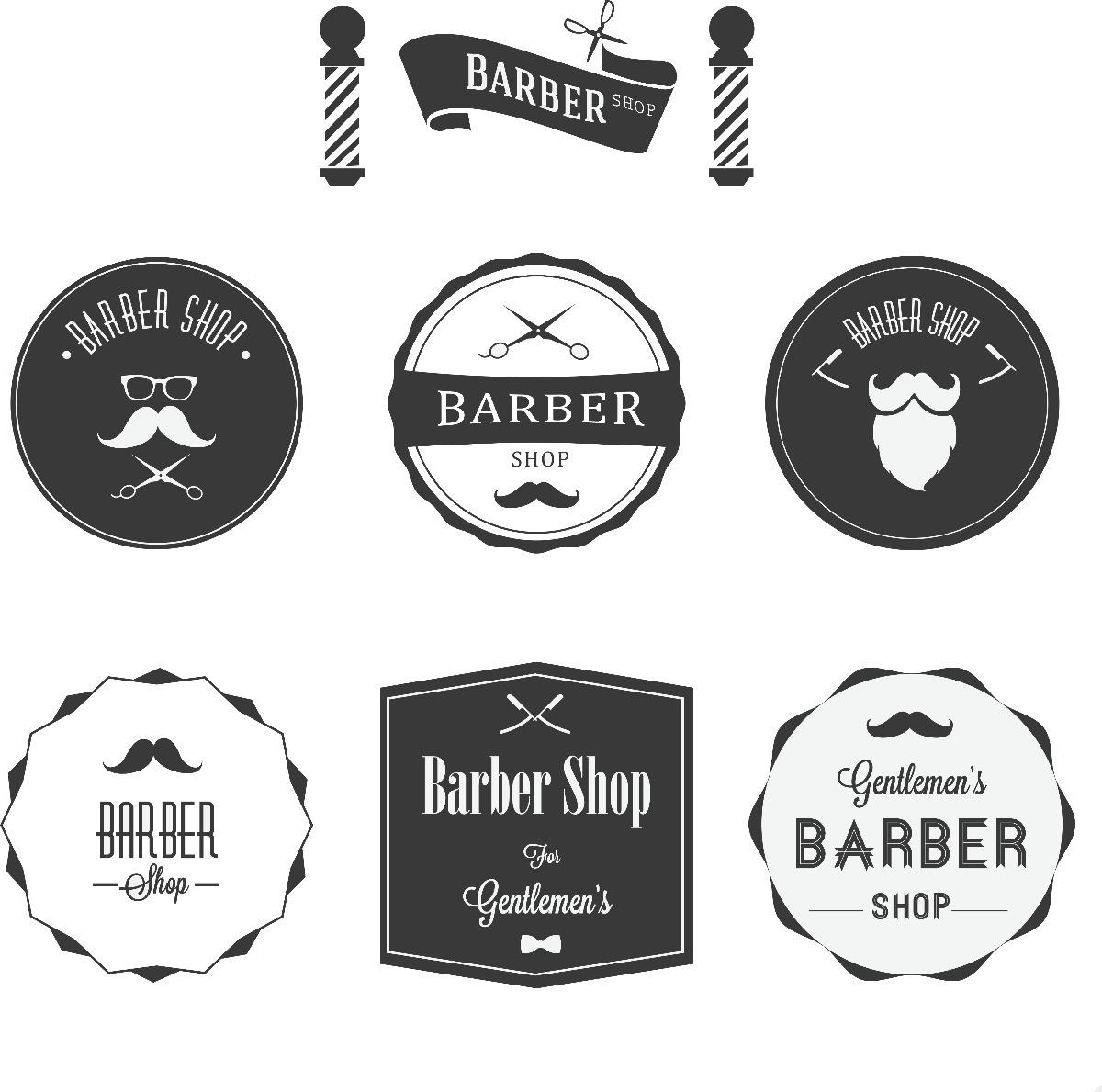 Adesivo De Parede Com Led ~ Adesivo Personalizado Barbearia R$ 45,00 em Mercado Livre