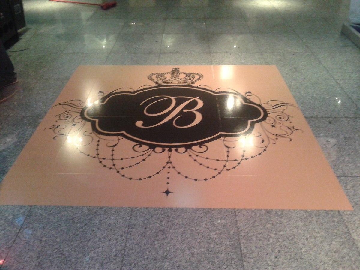 Artesanato Xuxinha De Cabelo ~ Adesivo Personalizado Pista De Dança Casamento 15 Anos Djs R$ 29,99 em Mercado Livre