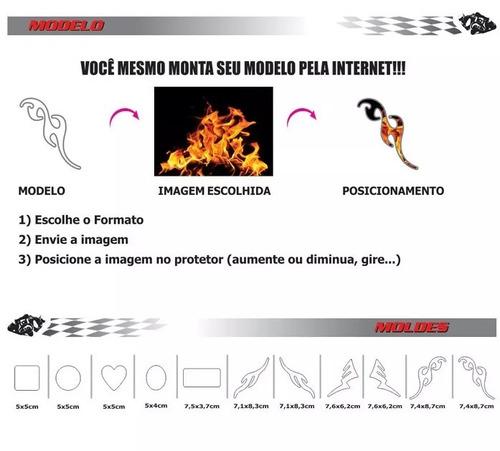 adesivo personalizado resinado tuning capacete carro moto