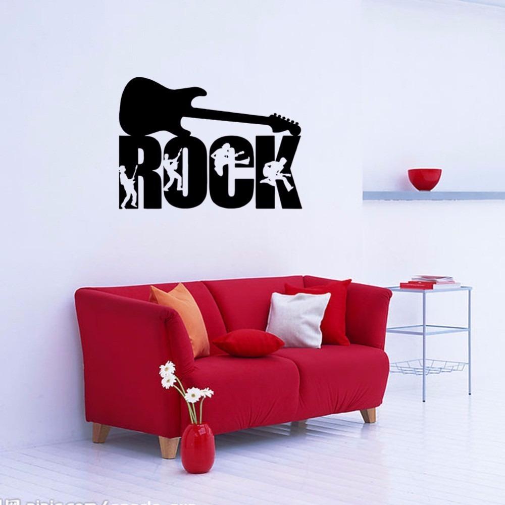 Desenhos De Rock Na Parede Do Quarto Nchome Info -> Papel De Parede Para Sala Rock N Roll