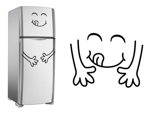 adesivo pinguim, cozinha, geladeira, parede, pingolino, vaca
