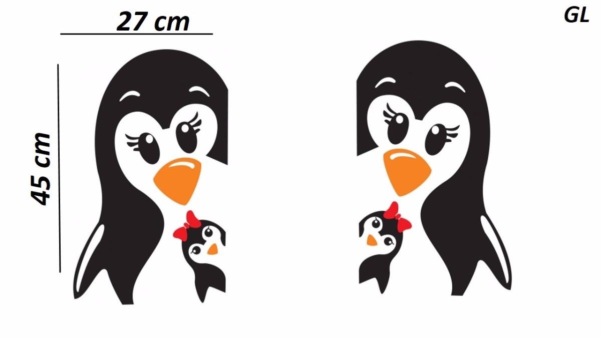 Aparador Em Mdf Com Gaveta ~ Adesivo Pinguim Geladeira Decorativo Pinguins Cozinha Casa