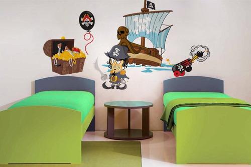adesivo pirata - mudo minha casa