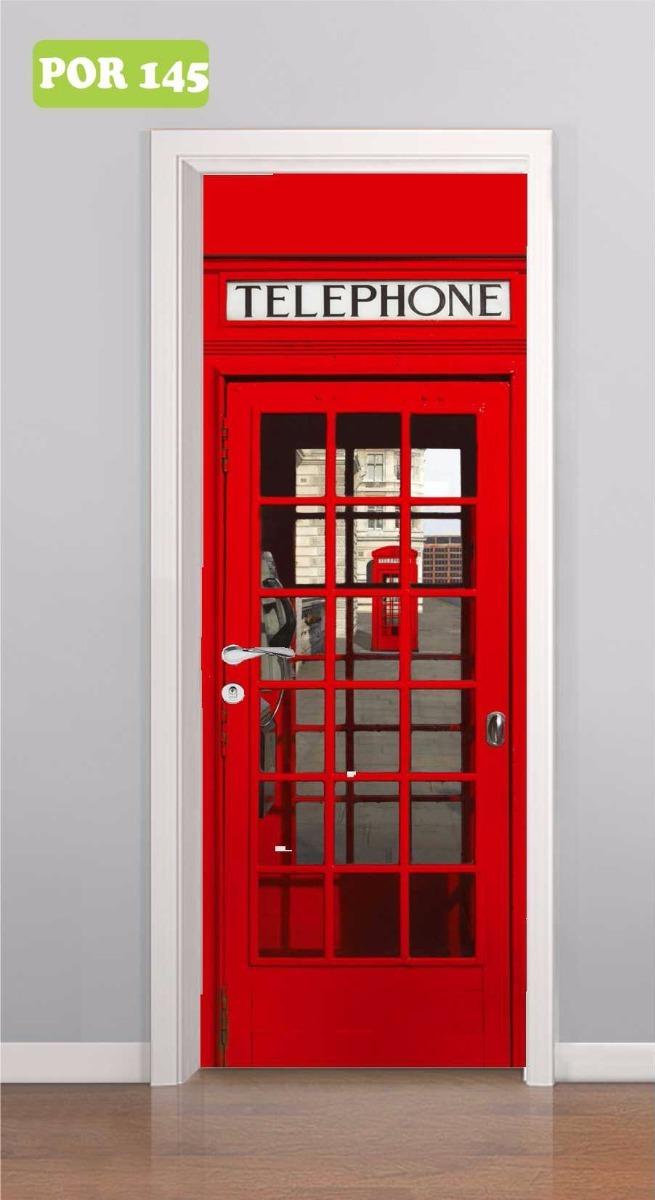 b7cc2b895 adesivo porta cabine telefônica londres - big ben inglaterra. Carregando  zoom.