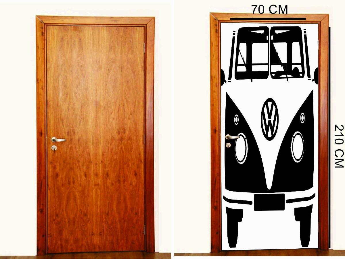 Armario Joyero Pared Ikea ~ Adesivo Porta De Quarto Kombi R$ 129,99 em Mercado Livre
