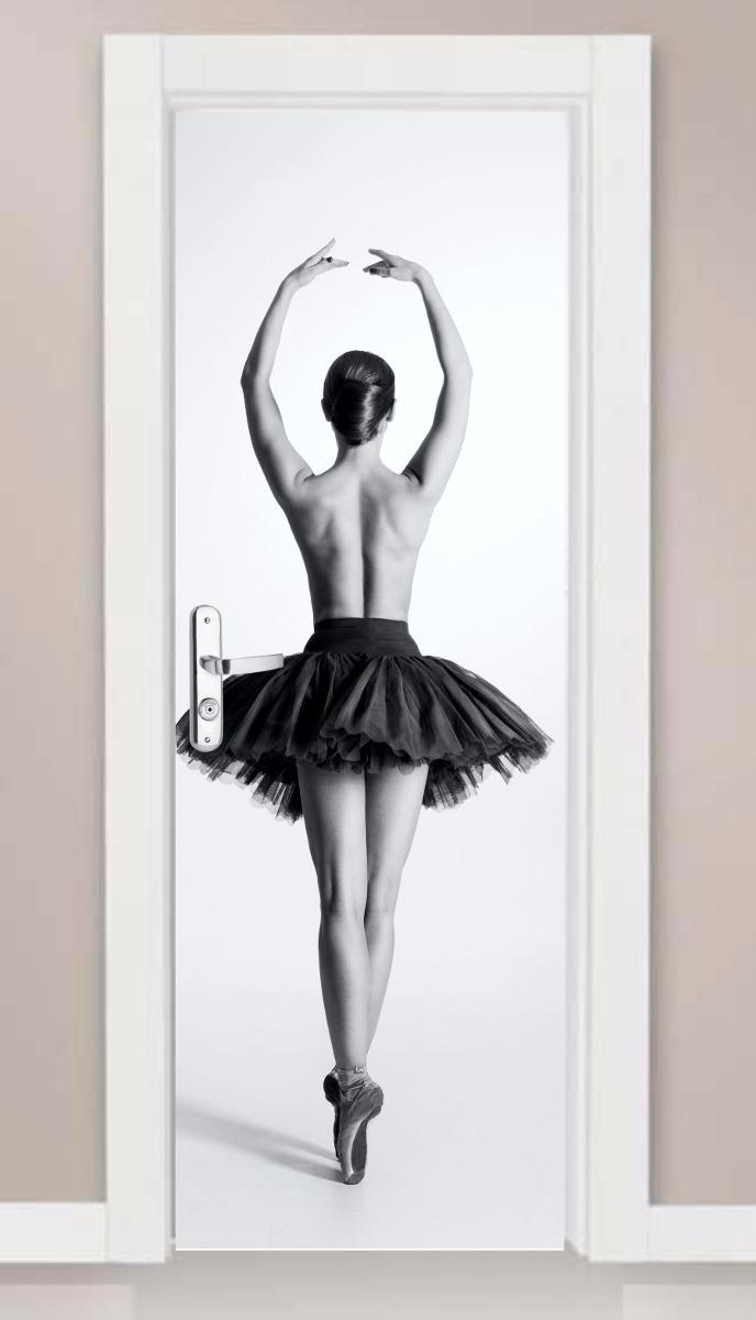 ef2e99c082 adesivo porta e parede ballet clássico bailarina exclusivo! Carregando zoom.