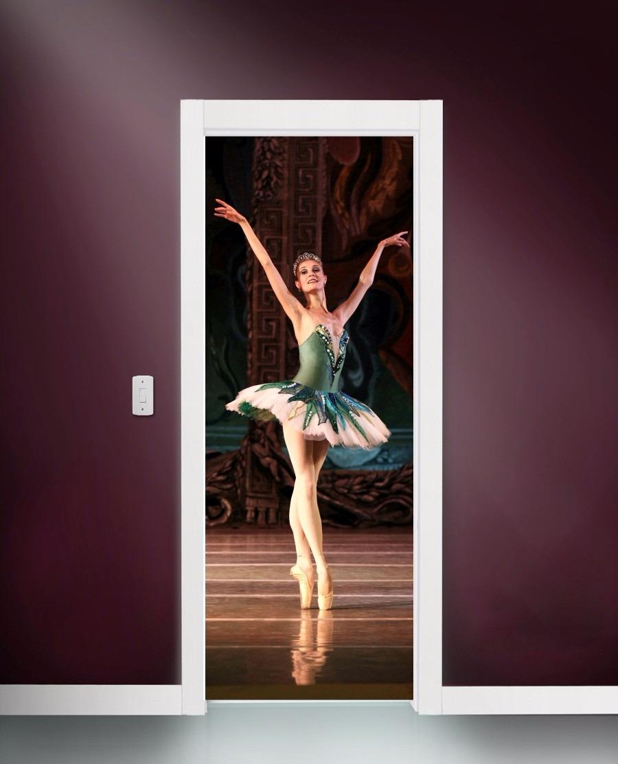 46f9bb1fa3 adesivo porta e parede dançarina ballet bailarina clássica. Carregando zoom.