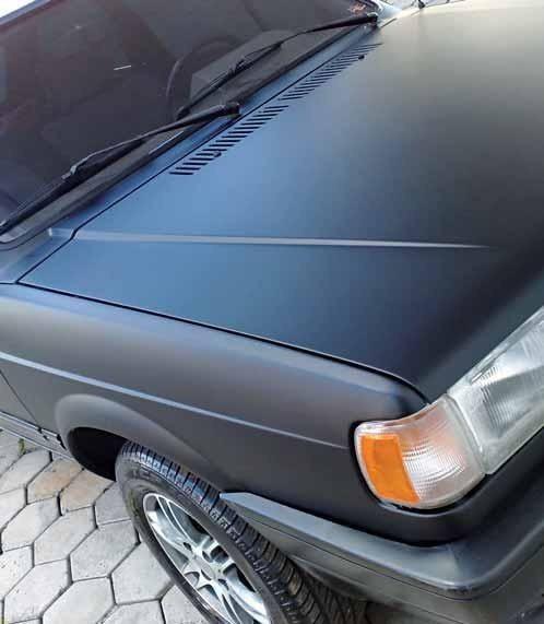 Artesanato Lembrancinhas De Aniversario ~ Adesivo Preto Fosco Para Envelopamento Automotivo R$ 8,00 em Mercado Livre