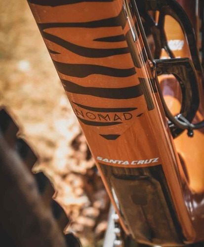 adesivo protetor p/ bicicleta - top/down tube zebrado