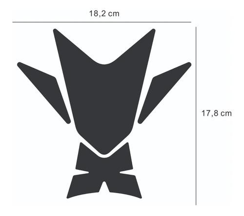 adesivo protetor tanque tank pad kawasaki z 400 z400