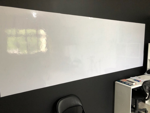 adesivo quadro branco lousa uso profissional escolar 2m x 1m