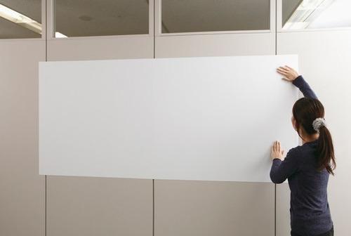adesivo quadro branco lousa uso profissional escolar 3m x 1m
