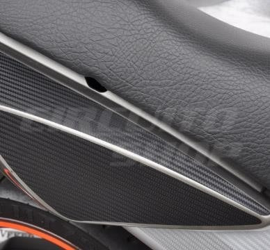 adesivo rabeta lat moto honda cbx 250 twister + tuning top