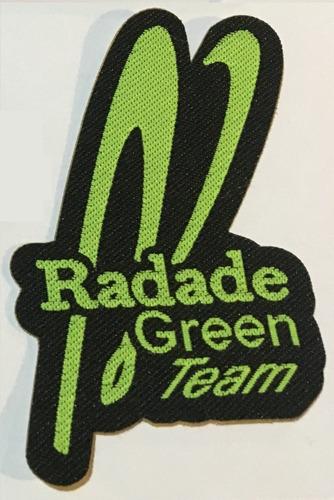 adesivo radade green team - pacth para chapéus