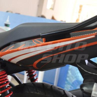 adesivo refletivo grafismo rabeta moto yamaha fazer 150