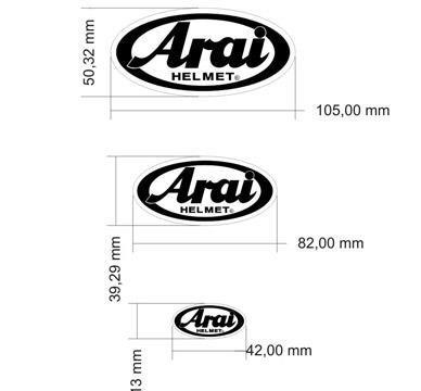 adesivo refletivo moto carro capacete arai m2+ frete grátis