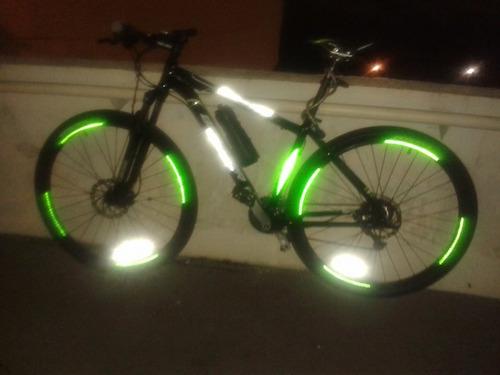 adesivo refletivo para aro bike & moto - varias cores