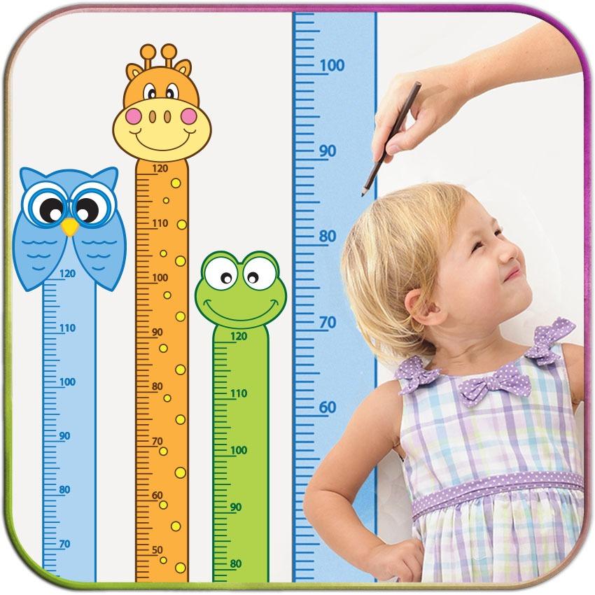 Adesivo r gua de altura crescimento decorativa infantil - Altura cambiador bebe ...
