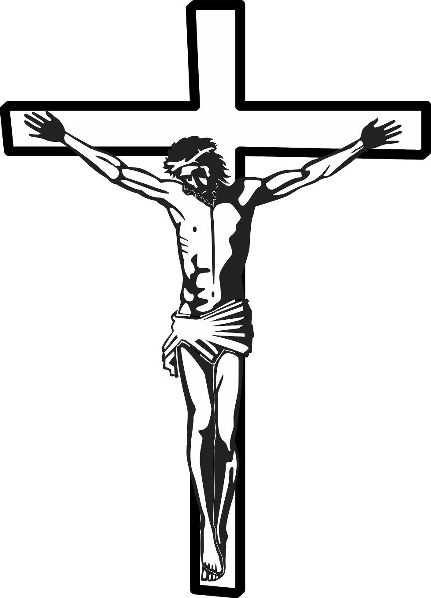 Aparador Acrilico Onde Comprar ~ Adesivo Religioso Jesus Cristo Cruz Terço Deus Paz Decoraç u00e3o R$ 10,90 em Mercado Livre