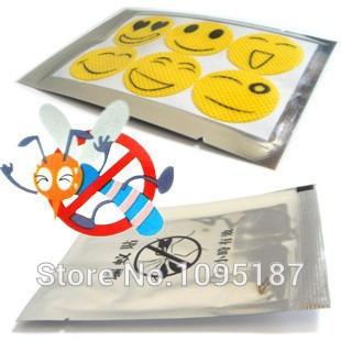 adesivo repelente citronela 1 cartela c/6 carinhas 1,70