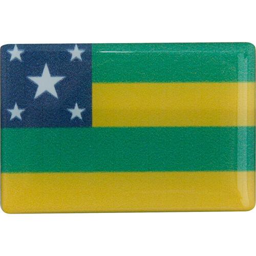 adesivo resinado - bandeira estado de sergipe