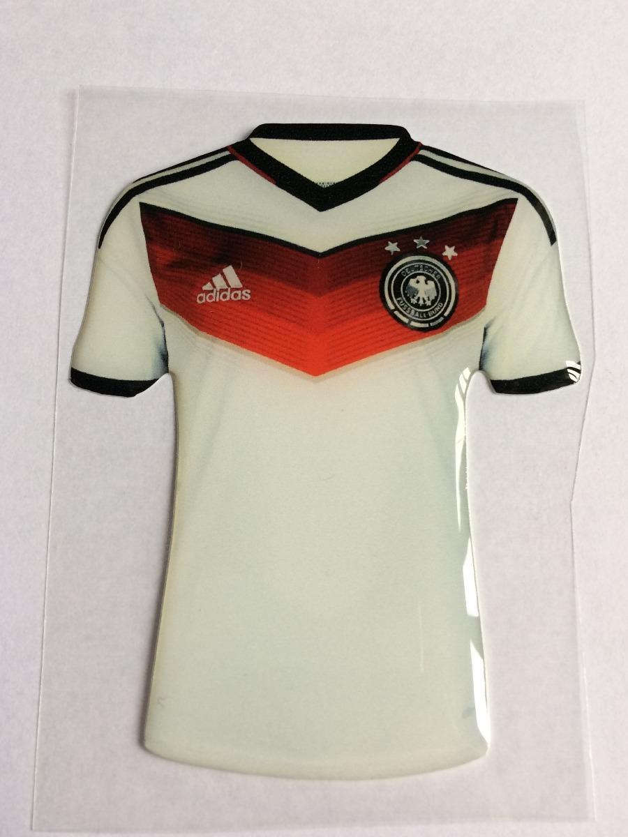 Adesivo Resinado Camiseta Seleção Alemanha 7 2848428a67781
