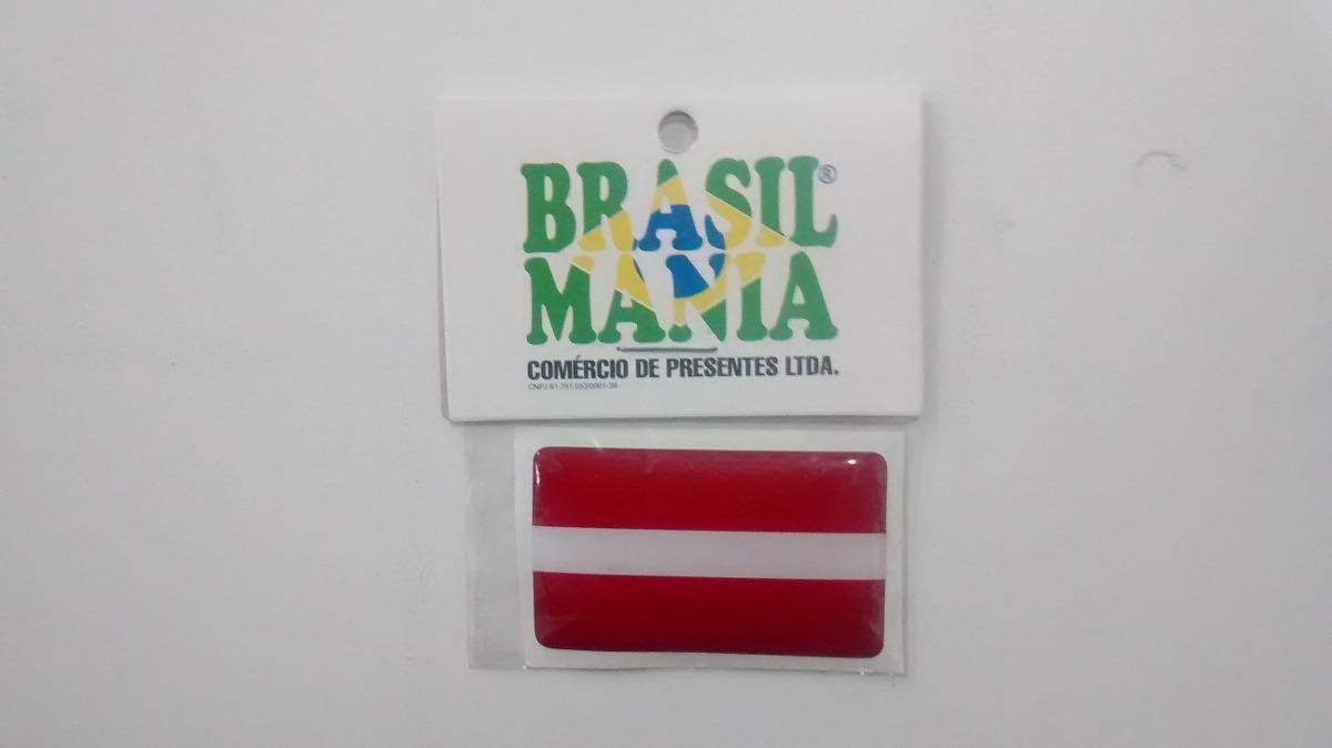 adesivo resinado com a bandeira da letônia r 13 02 em mercado livre