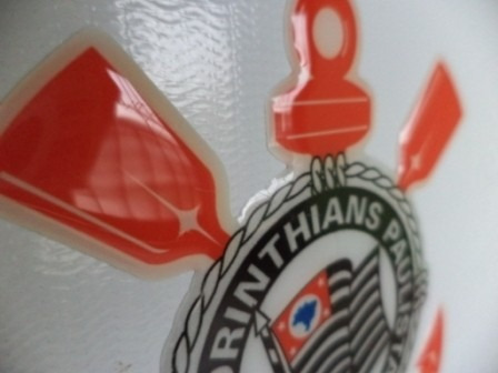 adesivo resinado corinthians timão carro capacete