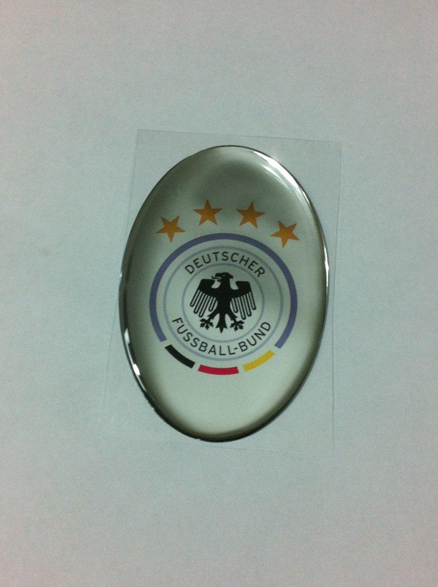 01bce729e1 adesivo resinado do escudo da seleção da alemanha de futebol. Carregando  zoom.