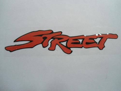 adesivo resinado street para ford fiesta 01/07 - bre