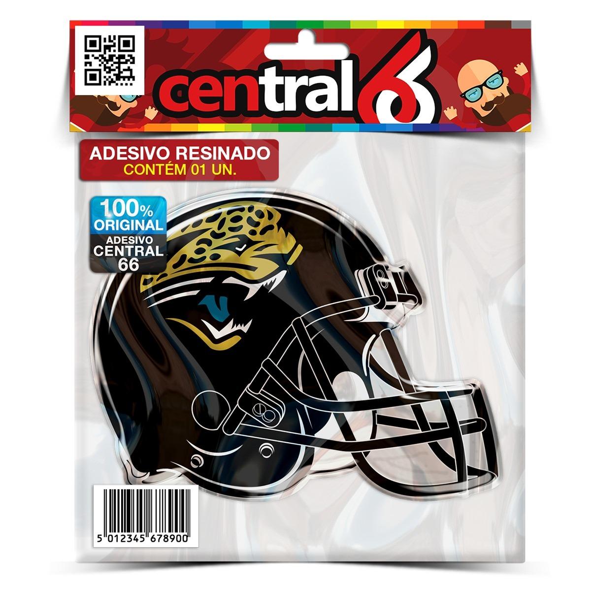 Adesivo Resinado Time Jacksonville Jaguars Football Helmet. Carregando Zoom.