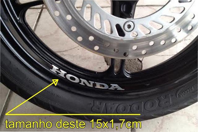 Patricia Valença Artesanato ~ Adesivo Roda Aro Moto Honda Hornet Cb Gsx Cbr 300 450 750 R$ 11,49 em Mercado Livre