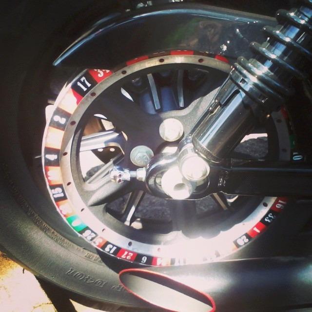 Adesivo De Roda Yamaha ~ Adesivo Roleta Casino Polia Harley Davidson Sportster 883 R$ 29,00 em Mercado Livre