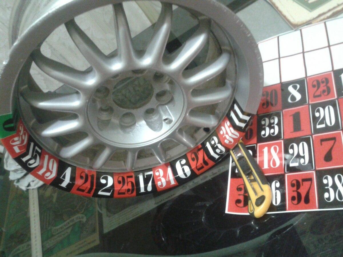 Artesanato Lembrancinhas De Aniversario Infantil Passo A Passo ~ Adesivo Roleta Roda Carro Ou Moto Eurolook Ratlook Fusca R$ 29,00 em Mercado Livre