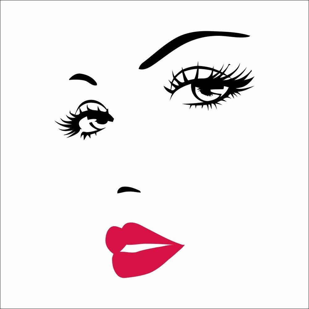 Adesivo Gato De Botas ~ Adesivo Rosto Olhos E Sobrancelhas Sal u00e3o De Beleza Mulher R$ 29,99 em Mercado Livre