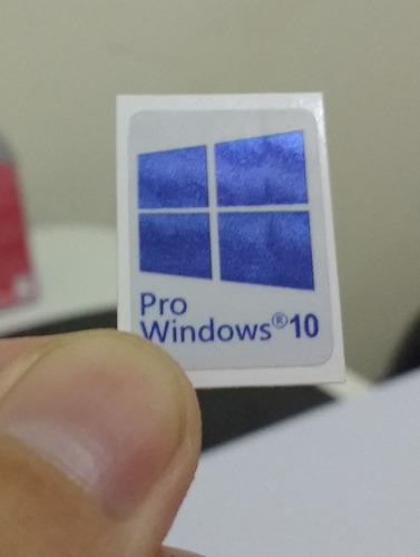 adesivo selo windows 10 pro