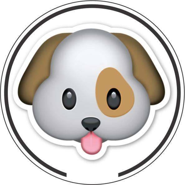 Adesivo Shih Tzu Cachorro Desenho Cão Veterinária Pet Shop