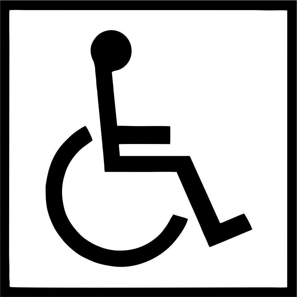 Aparador Madera Y Espejo ~ Adesivo Sinalizaç u00e3o Deficiente Cadeirante 19 Cm Frete Fixo R$ 5,99 em Mercado Livre