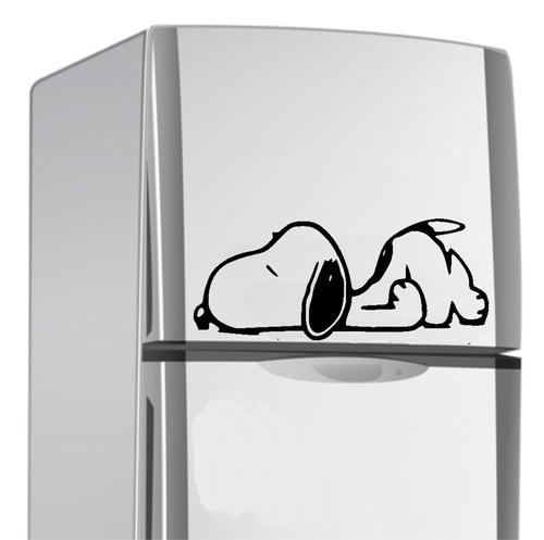 adesivo snoopy para geladeira
