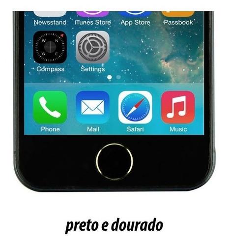 adesivo sticker botão home iphone ipad estilo 5s frete