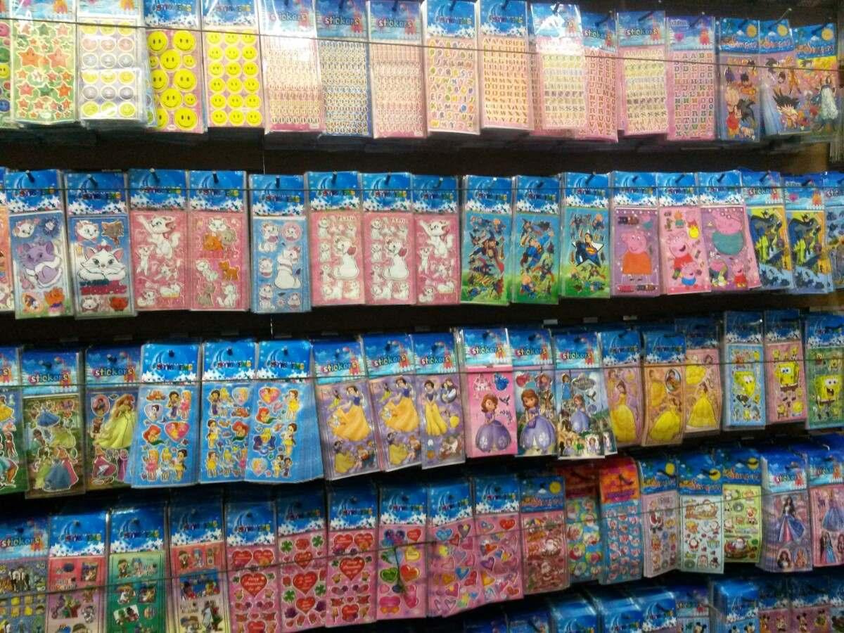 Adesivo sticker crian a cole o personagem infantil for Stickers de pared infantiles
